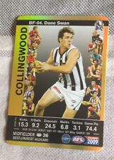 Teamcoach 2009 Gold Best and Fairest card Collingwood Dane swan