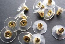50Pcs Silver Golden Ear Post Nuts Earring Backs Stoppers Findings Jewelry new