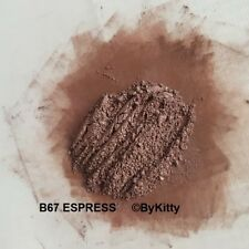 Mineral eyeshadow / eyebrow powder natural and pure excl. handmade Espress