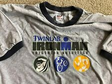 Ironman Triathlon Ironman Finisher TwinLab old school shirt