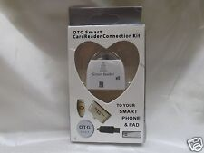 NEW!! OTG Card Reader Connection Kit SD SDHC SDHCMMC RS-MMC T-FLASH Micro