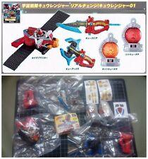 Bandai Super Sentai Uchu Sentai Kyuranger Mini Kyutama Kyu-za Weapon gashapon x5