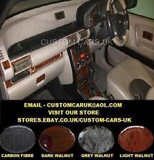 Land Rover Freelander 1 - 1997-2003 L314 - Walnut Wood Or Carbon Fibre Dash Kit