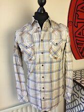 Mens Diesel  Slim Fit long Sleeve Check Shirt Vintage  Superb Condition  RRP £92