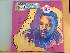 Alexander O Neal AUTOGRAPHED LP Hearsay All Mixed up-see signing proof