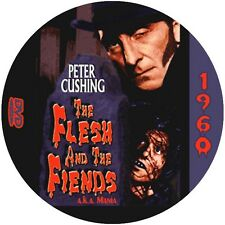"The Flesh and the Fiends (1960) Sci-Fi and Horror NR CULT ""B"" Movie DVD"