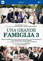 Una Grande Famiglia 3 - Cofanetto Con 4 Dvd Nuovo Sigillato