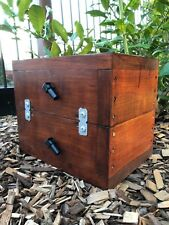 OATH Bee Hive | Stained | Stingless Native Beehive Side Entry
