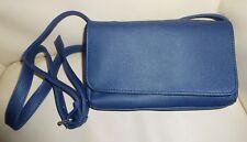 ❤️ Damen Tasche Handtasche Umhängetasche Abend Party Freizeit dunkel blau NEU ❤️