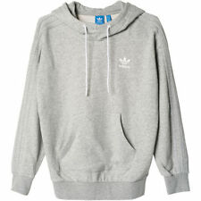 adidas Polyester Hooded Plain Hoodies & Sweats for Women