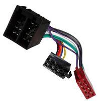 Adaptateur faisceau câble fiche ISO autoradio compatible Audi Skoda VW 2004+