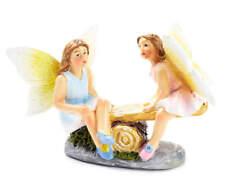 Fairy Garden Miniature ~ Seesaw Fairies ~ Mini Dollhouse ~ Plant Accessory