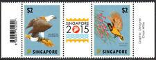 Singapore 1565 pair, MNH. Birds, 2012