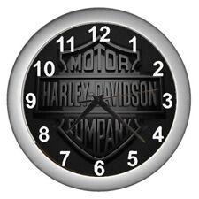 2020 Harley Davidson Black Logo Wall Clock