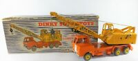 VINTAGE DINKY SUPERTOYS  972 COLES 20 TON LORRY CRANE   WITH ORIGINAL EARLY BOX
