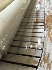 Nappe CRISTAL 50/100e plateau de verre épaisse toile PVC cirée au mètre 140 cm