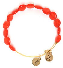 Alex And Ani Womens Red Luxe Bead Bangle 0182