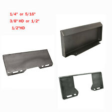 14 38 Hd 12 Quick Tach Attachment Mount Plate Skid Steer