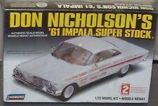 Don Nicholson's '61 Impala Super Stock Model Kit Vintage Replica Factory Sealed