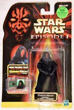"Star Wars Episode 1 DARTH MAUL (Tatooine) w/ Cloak & Lightsaber ""Win"" Front/Back"