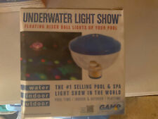 Pool Underwater Light Show Projects 7 Changing LED Colors Floating