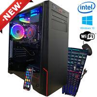 Intel i7 Gaming Desktop PC Computer SSD 16GB 2TB GeForce GTX 1060 HDMI RGB Fast