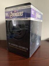 Avengers 4-Movie Steelbook Collection Lot (4K UHD/Blu-ray/Digital) FactorySealed