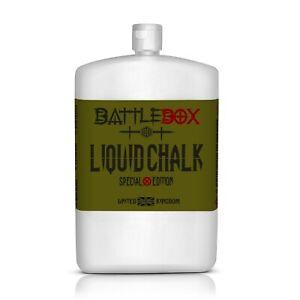 Battlebox UK® 250ML Liquid Chalk Rock Climbing Gymnastic WOD Gym Fitness Gr
