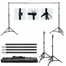 photo Video Studio 10Ft Adjustable Muslin Background Backdrop Support System New
