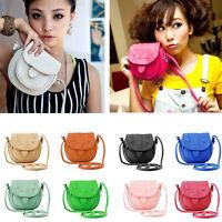 Lovely Cute Girl Pu Leather Mini Small Adjustable Shoulder Bag Handbag Stylish
