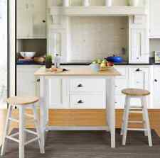 Dining Table Set for 2 Small Spaces Pub Bistro 3 Piece Stools White Kitchen Nook