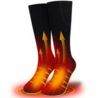 XBUTY 2020 Upgraded Rechargeable Heated Socks for Men Women,7.4V 2500mAh Battery