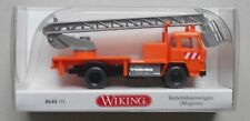 MAGIRUS AERIAL LIFT TRUCK WIKING 1/87 Plastic Miniature Car HO Scale