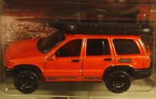 Matchbox Jeep 1999 Jeep Grand Cherokee orange 2016 Jeep series