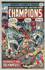 Champions #3 February 1976 VG+