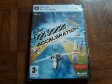 ## Jeu PC Microsoft Flight Simulator X Acceleration (Expantion Pack) NEUF
