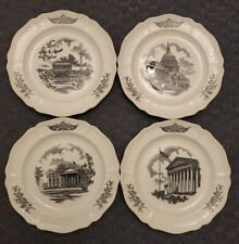 Vintage Wedgwood The Federal City Four Plate Collector Set Washington Dc 1964