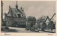 Ak, Pößneck, Rathaus