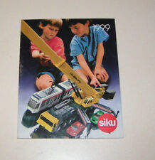 SIKU Modellauto Katalog 1999!