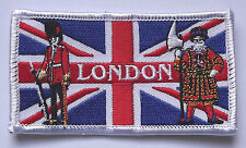 LONDON SOUVENIR FLAG WORLD EMBROIDERED PATCH BADGE WITH FREE UK POSTAGE