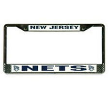New Jersey Nets license plate frame by Rico Industries new auto tag frame NBA