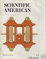 1979 Scientific American March- Dolphins; Old Catapults