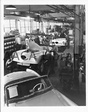 1954 Kaiser Darrin Sports Cars on Assembly Line, Factory Photo (Ref. #51711)