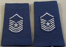 USAF Vintage Shoulder Mark Insignia Senior Master Sergeant / Small Size