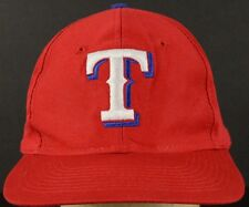 Texas Rangers Red Baseball Hat Cap with Snapback Strap Adjust