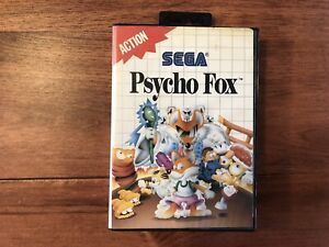 Psycho Fox (Sega Master System 1989) - Complete And Tested Rare Game !