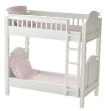 laurent doll 18 inch doll bunk bed furniture sleeps 2 american girl 18 dolls - Beds For American Girl Dolls