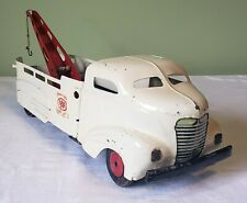 All Metal Products Wyandotte Toys Bullet-Nose Cab AAA SERVICE CAR TOW TRUCK 40's
