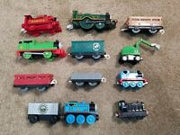 TOMY/Trackmaster Thomas & Friends Lot of 12 Trains Cargo Cars Wooden Diecast