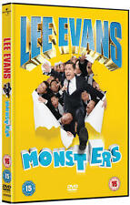 LEE EVANS MONSTERS OVER 2 HOURS RUN TIME UNIVERSAL UK 2014 REGN 2 DVD NEW SEALED
